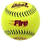 "Baden Fire Slow Pitch Composite 12"" Softballs (DZ)"