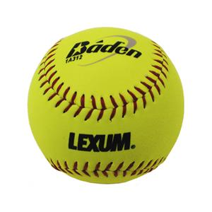 "Baden ASA Slow Pitch Yellow-L 12"" Softballs (DZ)"