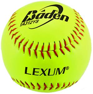 "Baden ASA Slowpitch Yellow 12"" Softballs 1A312-YS"
