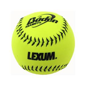 "Baden NSA Slow Pitch Yellow-C 11"" Softballs (DZ)"