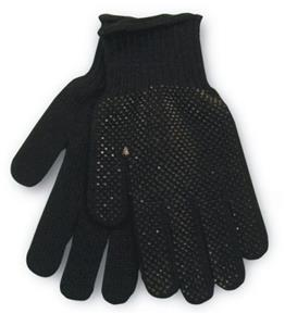 Red Lion Knit Gripper Players Gloves