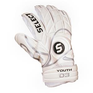 Select 03 Youth Soccer Goalie Glove-Finger Protect