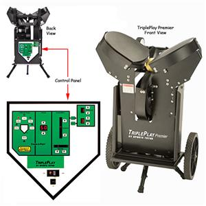 TriplePlay Premier Softball Pitching Machines
