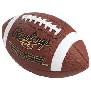 EDGE COMP Composite Leather Footballs-NFHS/NCAA