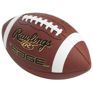 EDGE COMP Composite Leather Footballs-NFHS/NCAA