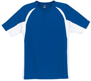 Badger Hook Placket Baseball Jerseys