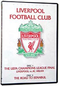 SALE-Road Istanbul Liverpool (DVD)- soccer videos
