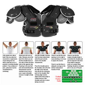 Rawlings SRG AIMS A3 Football Shoulder Pads