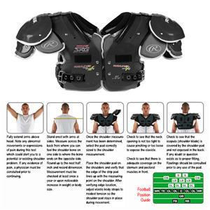Rawlings SRG AIMS A3 Football Shoulder Pads