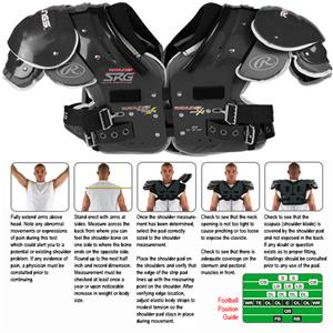 Rawlings SRG AIMS A4 Football Shoulder Pads