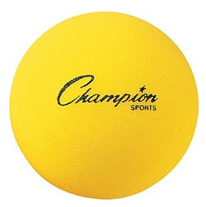 "Champion Sports Reg Density Foam Balls 3"" to 8.5"""