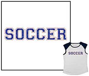 Closeout-Soccer Raglan Sleeve soccer tshirts