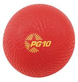 "Champion Playground & Kickball Nylon 10"" Red Balls"