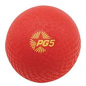 "Champion Playground & Kickball Nylon 5"" Red Balls"