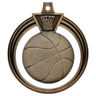 "Hasty Awards 2.5"" Eclipse Basketball Medals"