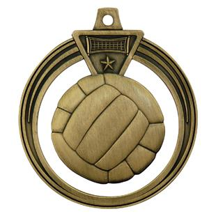 """Hasty Awards 2.5"""" Eclipse Volleyball Medal"""