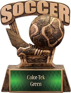 Hasty Awards ProSport 6&quot; Soccer Resin Trophies