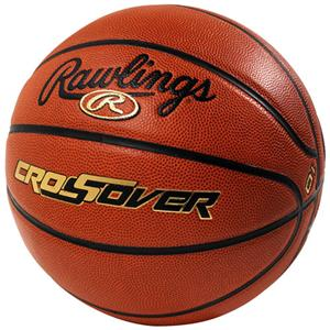 "Rawlings CROSSOVER 28.5"" Comp Leather Basketballs"