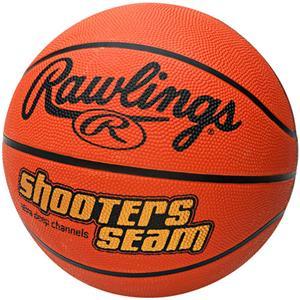 "Rawlings Shooters Seam 29.5"" Rubber Basketballs"