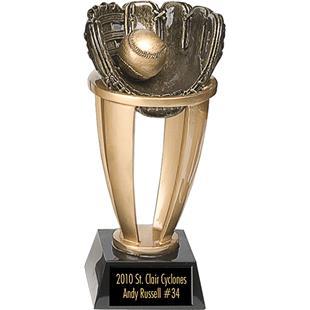 "Baseball Softball 7.5"", 10.75"", 13"" Team Trophies"