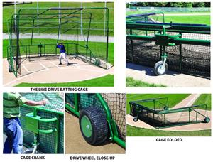 The Line Drive Portable Batting Cage