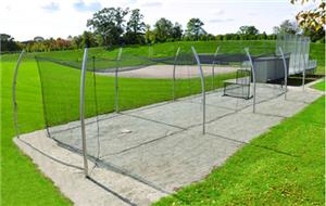 Baseball Pro Batting Cage Tunnel Frames 2 Sizes