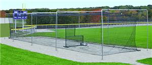 Baseball Wicket Style Batting Cage Tunnel Frames