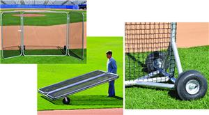 Baseball Big League Fungo Protector Screen W Wings