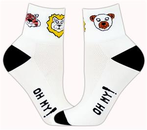 Red Lion Lions/Tigers/Bears Crew Athletic Socks