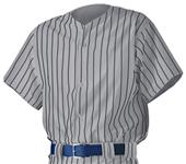 Alleson PROWJ Adult Full Button Baseball Jerseys