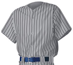 Alleson PROWJ Adult Full Button Baseball Jerseys