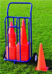 Jaypro Cone Storage Cart On Wheels