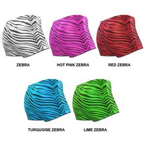 Pizzazz Cheerleaders Zebra Glitter Boy Cut Briefs