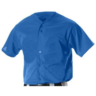 Alleson Youth Full Button Baseball Jersey-Closeout