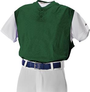 Alleson 524VST Two Button Mesh Baseball Vests