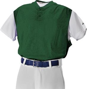 Alleson 524VSTY Youth Two Button Baseball Vests