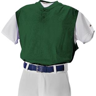 Alleson Youth Two Button Baseball Vests-Closeout