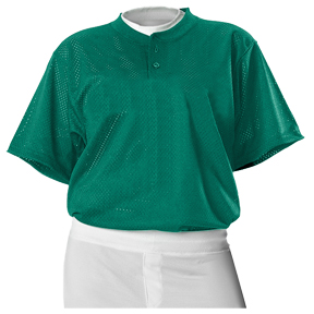 Alleson 524MSH Two Button Mesh Baseball Jerseys