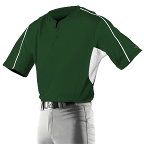Alleson 526MJY Youth Two Button Baseball Jerseys