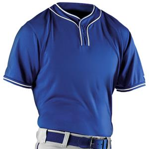 Alleson Adult Two Button Baseball Jersey