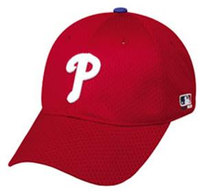 MLB Stretch Fit Alternate Phillies Baseball Cap