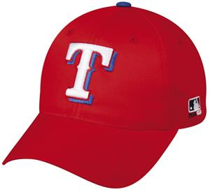 OC Sports MLB Texas Rangers Cotton Baseball Cap