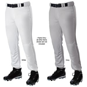 Alleson PROMLPN Adult Elastic Bottom Baseball Pant