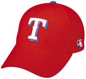 MLB Adjustable Texas Rangers Wool Baseball Cap