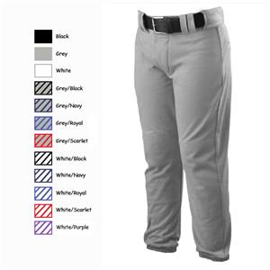 Alleson PROWPY Solid & Pinstripe Baseball Pants CO
