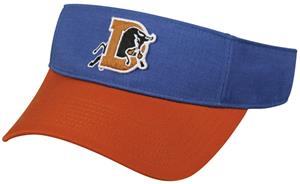 OC Sports MINOR LEAGUE Durham Bulls Baseball Visor