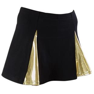 Pizzazz Metallic V-Panel Skirt w/Boys Cut Briefs