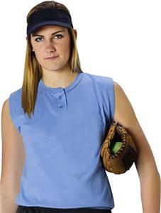 Alleson 522PCW Women's Two Button Softball Jerseys
