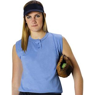 Alleson Women's Two Button Softball Jerseys CO