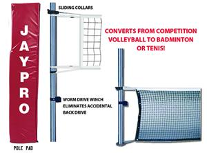 Multi Purpose Aluminum Volleyball Net System